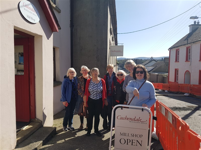 Handweavers Guild of Cork Road Trip Spring 2018
