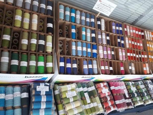 handweavers-guild-cork-Roscommon-international-fibre-arts-festival-2018-weavers-bazaar-pop-up-shop