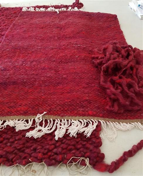 handweavers-guild-cork-may-meeting-spinning-shenanigans-Gerdas-rugs