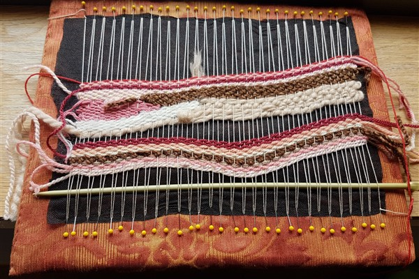 Pin Weaving in September
