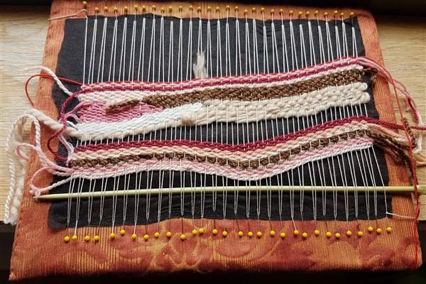 Pin Weaving inSeptember