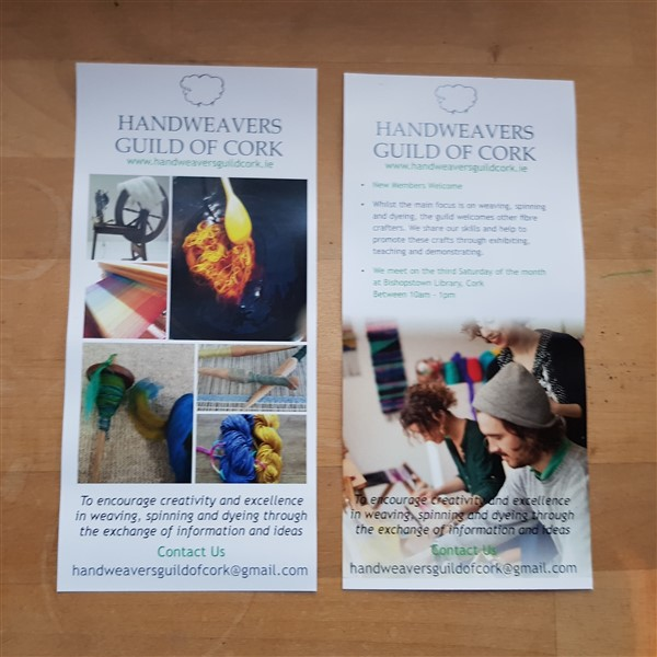 Handweavers-guild-cork-wheres-octobers-nalbinding-flyers