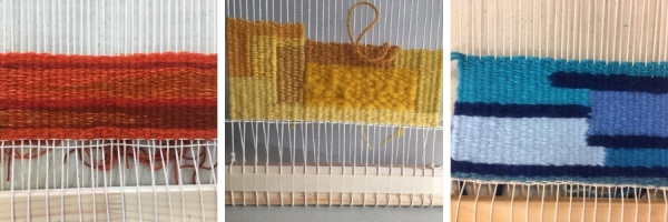 Handweavers-guild-cork-colour-exploration-tapestry-collage