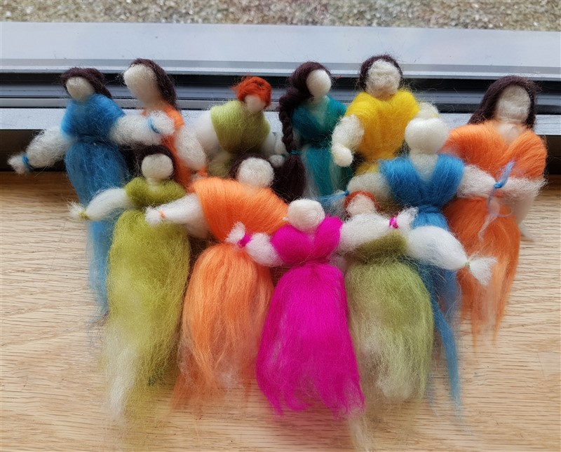 Festive Felted Fairies in November 2019